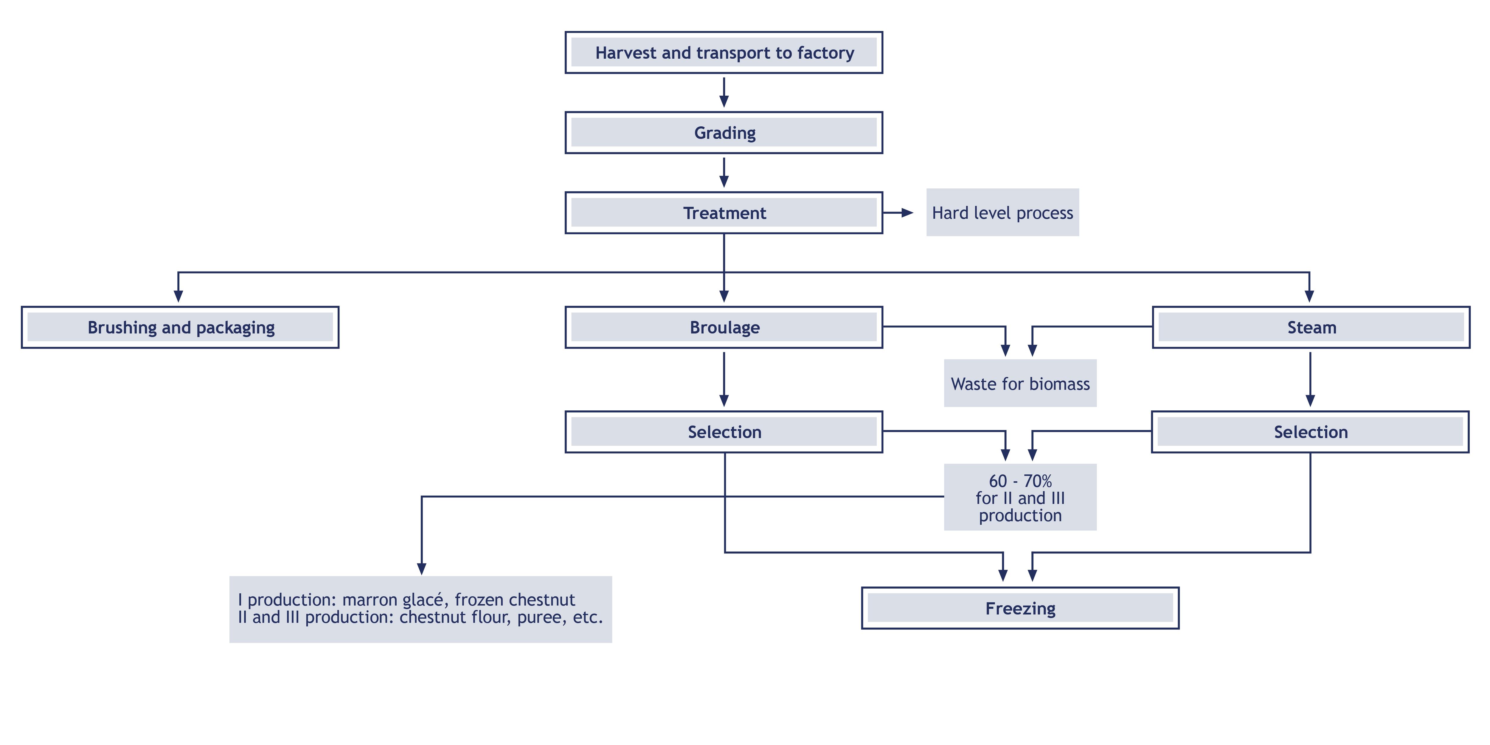 CHESTNUT line scheme